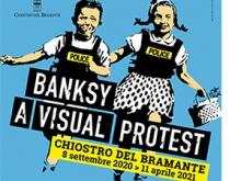 BanksyVisualProtest_ChiostrodelBramante_Cover