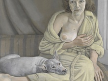 Freud_Girl with a White Dog_BACON, FREUD E LA SCUOLA DI LONDRA