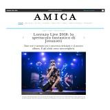 Amica-Corriere della Sera 151118 | Lorenzo Live analogico digitale