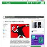 Ansa.it 04052021 | ALL ABOUT BANKSY | Chiostro del Bramante