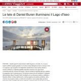 Ansa.it 22042021   Daniel Buren al Mirad'Or