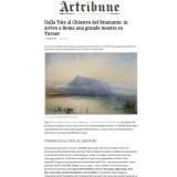 Artribune 05 03 2018 | Turner opere della Tate