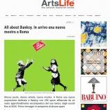 Artslife.com 28042021 | ALL ABOUT BANKSY | Chiostro del Bramante