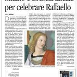 Avvenire Milano 01102020 | Raffaello Custodi del Mito in Lombardia