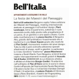 Bell'Italia 09 2018 | I Maestri del Paesaggio