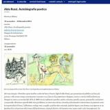 www.casabellaweb.eu/121114 | Aldo Rossi | Autobiografia poetica