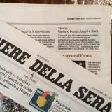 Corriere della Sera 270415 | Gaetano Pesce
