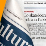 Corriere della Sera 050612 | Do not think | Arte e sport