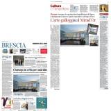 Corriere della Sera edizione Brescia 21042021   Daniel Buren al Mirad'Or
