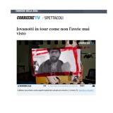 Corriere della Sera 161118 | Lorenzo Live analogico digitale