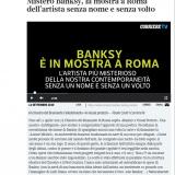 CorriereTv Roma 12092020   BanksyaVisualProtest
