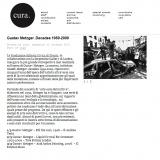 Cura magazine 111010 | Gustav Metzger
