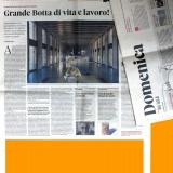 Domenica-Il Sole 24 Ore | Vasi Mario Botta