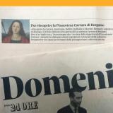 Domenica-Il Sole 24 Ore 180514 | Riscoprire la Carrara