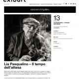 Exibart.com 23052021 | Lia Pasqualino. Il tempo dell'attesa