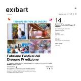 Exibart 28 08 2019 | Fabriano Festival del Disegno