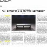 Flash Art   Melvin Moti