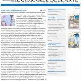 www.ilgiornaledellefondazioni.it/130612 | Do not think | Arte e sport