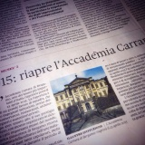 Domenica-Il Sole24Ore 141214 | Accademia Carrara