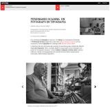 www.interni.it/110118   Un fotografo in tipografia
