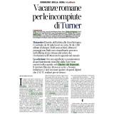 La Lettura - Corriere della Sera 01 04 2018 | Turner opere della Tate