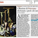 LaLettura - CorrieredellaSera 24052020   Tiziano e Caravaggio in Peterzano