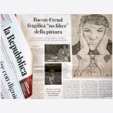 La Repubblica 29 settembre 2019 | Bacon, Freud, la Scuola di Londra, Opere della TATE