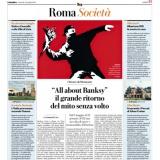 La Repubblica Roma 30042021   ALL ABOUT BANKSY Chiostro del Bramante