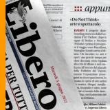 Libero 050612 | Do not think | Arte e sport