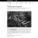 www.living.it/260118   Un fotografo in tipografia