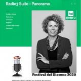 RaiRadio3 11092020 | FestivaldelDisegno2020