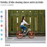 www.ilcorriere.it/310717 | mobike