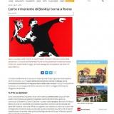 SkyArte.it 28042021 | ALL ABOUT BANKSY Chiostro del Bramante