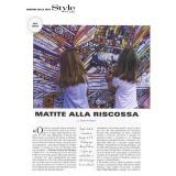Style Piccoli - Corriere della Sera 09 2019   Fabriano Festival del Disegno
