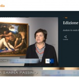 TG3 Lombardia 06022020   Tiziano e Caravaggio in Peterzano