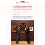 The Art Newspaper 271118 | Attribuzione Andrea Mantegna