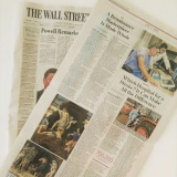 The Wall Street Journal 281118 | Attribuzione Andrea Mantegna