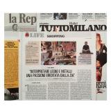 La Repubblica-tuttomilano 291118 | Algranti LAB