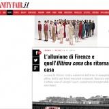 www.vanityfair.it/041116 | Vasari Ultima Cena