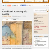 www.vivimilano.it/131114 | Aldo Rossi | Autobiografia poetica