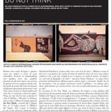 WU magazine | Do not think | Arte e sport