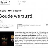 Zero 16122019 | In Goude we trust